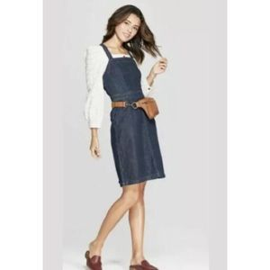 Universal Thread denim jean apron tank dress